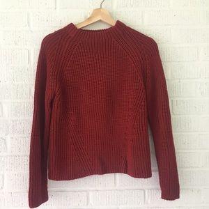 Zara knit red sweater